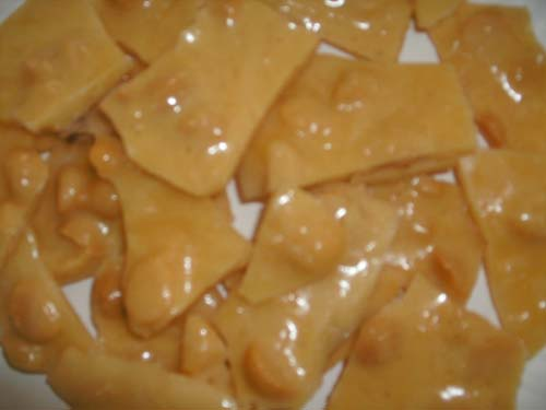 Macadamia Coconut Pineapple Brittle