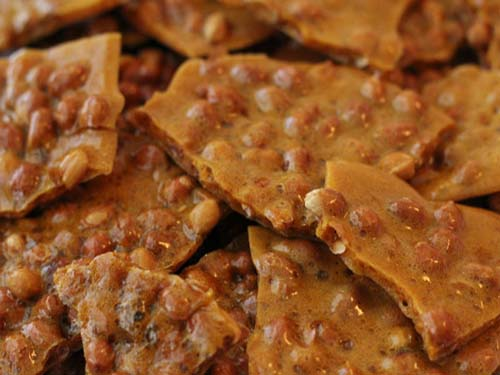 Peanut Brittle Spicy Brittle